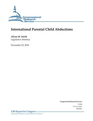 International Parental Child Abductions