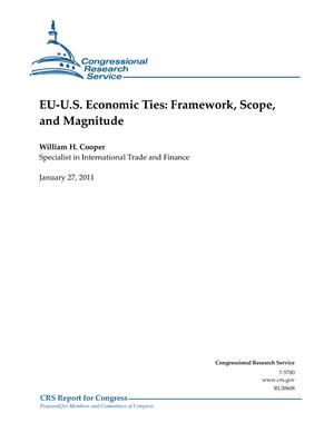 EU-U.S. Economic Ties: Framework, Scope, and Magnitude