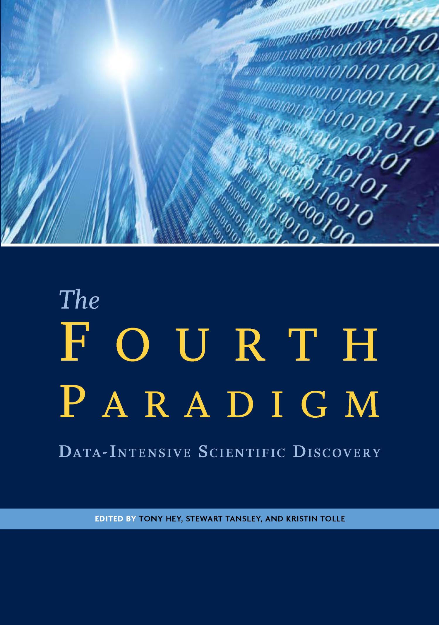 the fourth paradigm  data