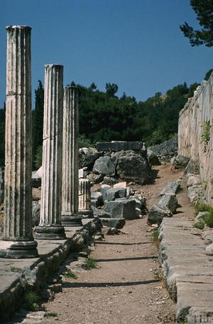 Sanctuary of Apollo and Stoa of the Athenians