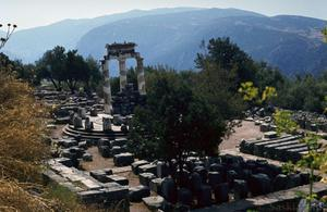 Sanctuary of Athena Pronaia with Tholos
