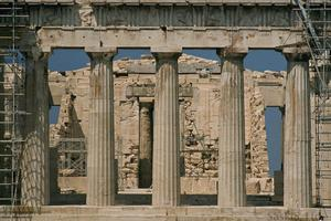 Primary view of object titled 'The Parthenon'.