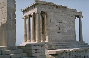 Primary view of object titled 'Temple of Athena Nike'.