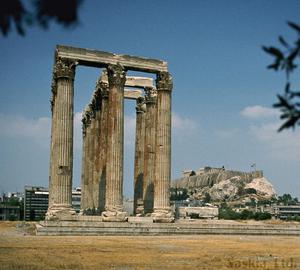Primary view of object titled 'Temple of the Olympian Zeus'.