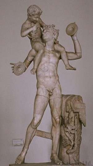 The Young Dionysius with a Satyr