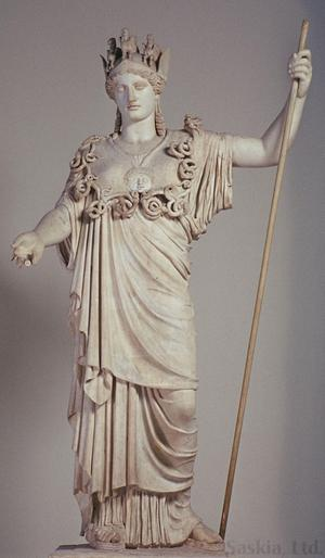 Primary view of object titled 'Athena from the Farnese Collection'.