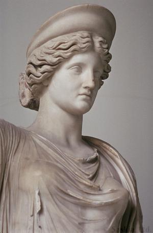 Hera From The Farnese Collection Unt Digital Library
