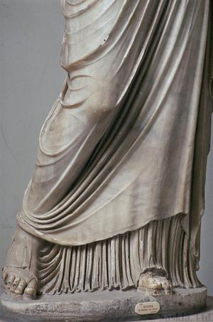 Primary view of object titled 'Hera from the Farnese Collection'.