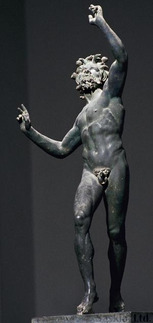 Primary view of object titled 'Dancing Faun from the House of the Faun, Pompeii'.
