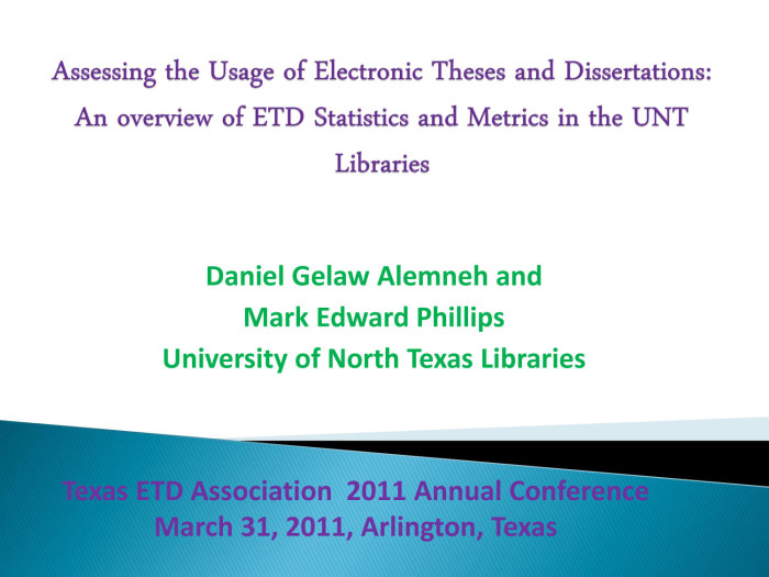 texas a m theses and dissertations