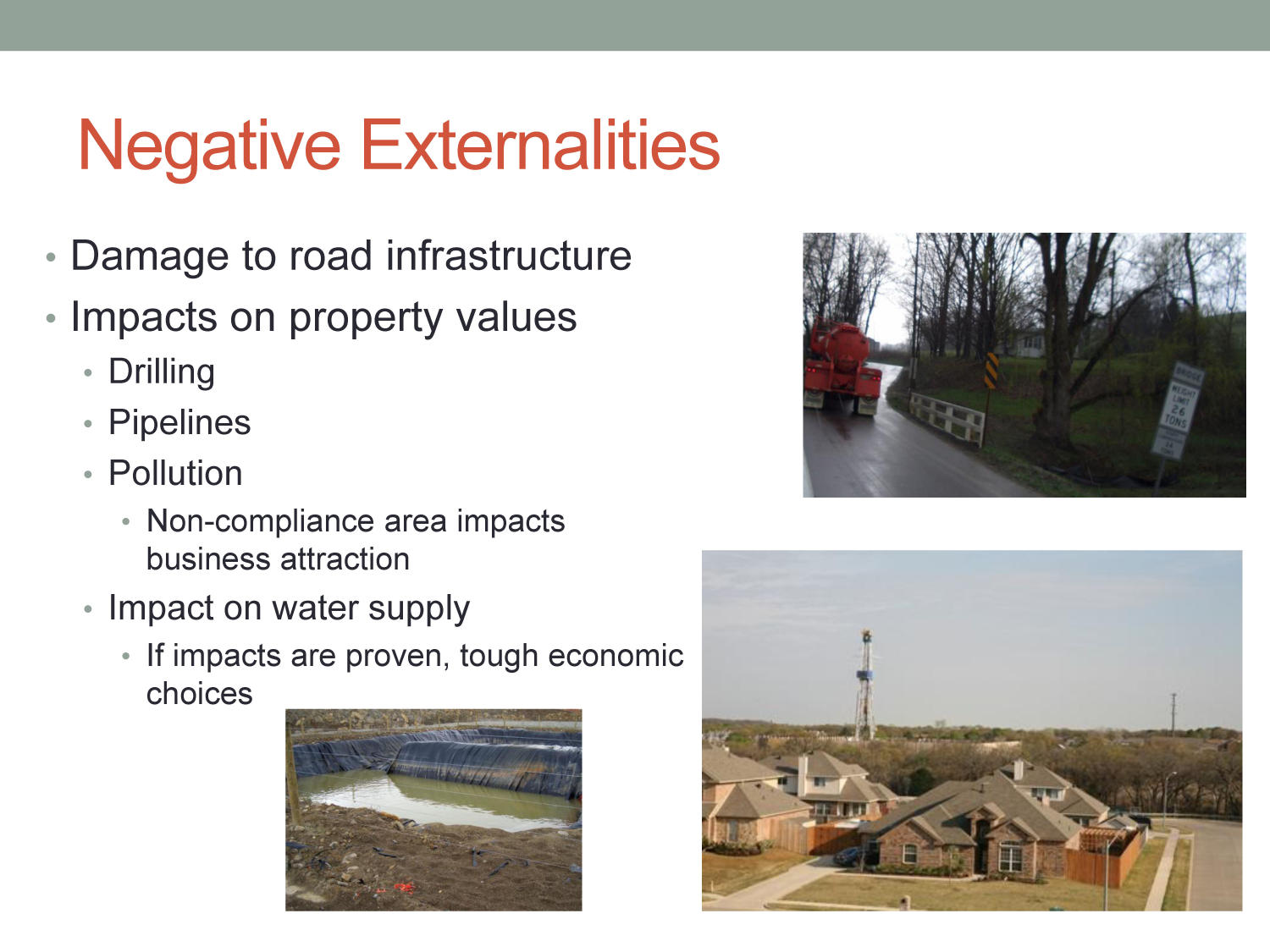 Economic Impacts of the Natural Gas Industry in North Texas                                                                                                      [Sequence #]: 10 of 11