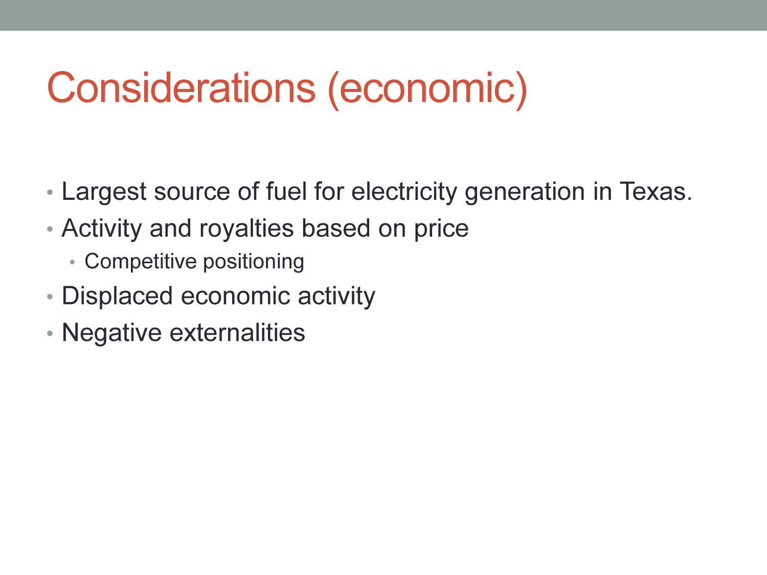 Economic Impacts of the Natural Gas Industry in North Texas                                                                                                      [Sequence #]: 6 of 11