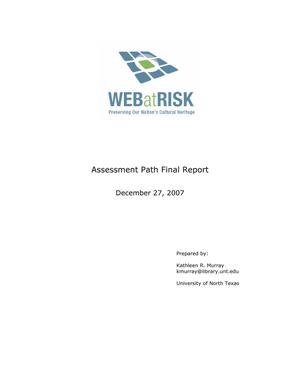Assessment Path Final Report