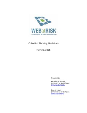 Collection Planning Guidelines