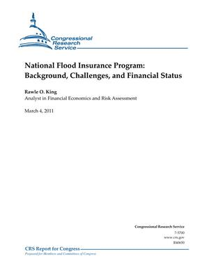 National Flood Insurance Program: Background, Challenges, and Financial Status