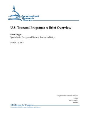 U.S. Tsunami Programs: A Brief Overview