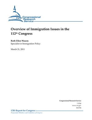 Overview of Immigration Issues in the 112th Congress