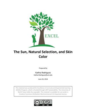 Primary view of object titled 'The Sun, Natural Selection, and Skin Color'.