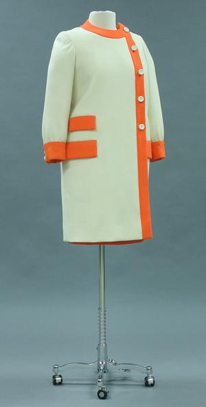 Primary view of object titled 'Ensemble - Dress and Coat'.