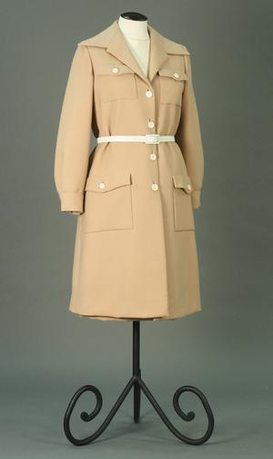Primary view of object titled 'Ensemble - Coat, Skirt, and Blouse'.