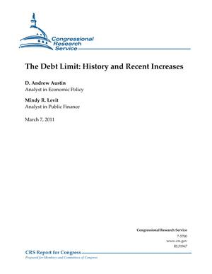 The Debt Limit: History and Recent Increases