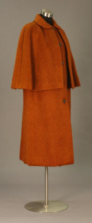 Primary view of object titled 'Cape Coat'.