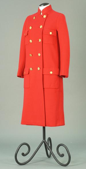 Primary view of object titled 'Ensemble - Coat and Skirt'.