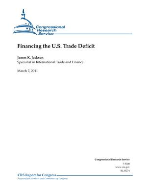 Financing the U.S. Trade Deficit