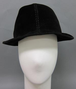 Primary view of object titled 'Trilby Hat'.