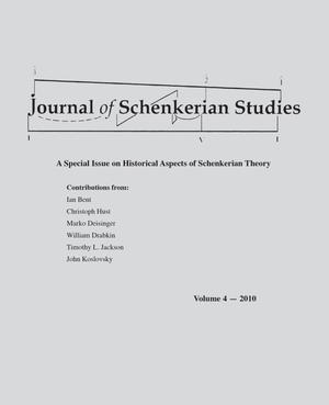 Primary view of object titled 'Journal of Schenkerian Studies, Volume 4, 2010'.