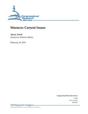 Morocco: Current Issues