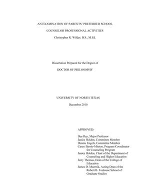 dissertation on guidance and counselling