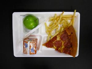 Primary view of object titled 'Student Lunch Tray: 02_20110131_02A5561'.
