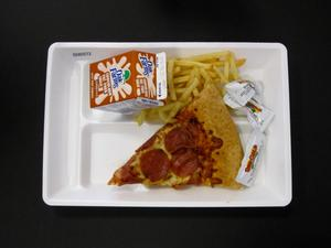 Primary view of object titled 'Student Lunch Tray: 02_20110131_02A5572'.