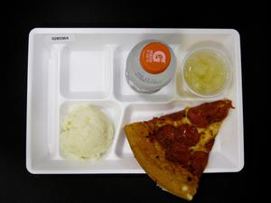 Primary view of object titled 'Student Lunch Tray: 02_20110131_02B5964'.