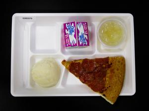 Primary view of object titled 'Student Lunch Tray: 02_20110131_02B5979'.