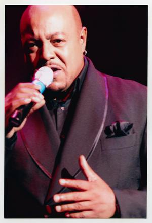 Primary view of object titled '[Peabo Bryson at TBAAL Anniversary Gala]'.