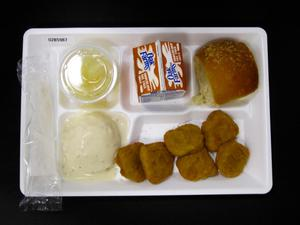 Primary view of object titled 'Student Lunch Tray: 02_20110131_02B5987'.
