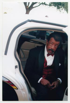 Primary view of object titled '[Hal Williams Exiting Vehicle]'.