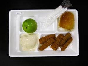Primary view of object titled 'Student Lunch Tray: 02_20110131_02B6019'.