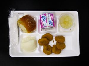 Primary view of object titled 'Student Lunch Tray: 02_20110131_02B6093'.