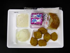 Primary view of object titled 'Student Lunch Tray: 02_20110131_02B6109'.