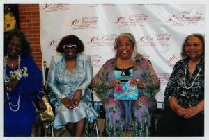 Primary view of object titled '[Della Reese with Several Guests]'.