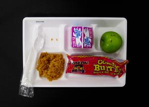 Primary view of object titled 'Student Lunch Tray: 02_20110131_02C4184'.