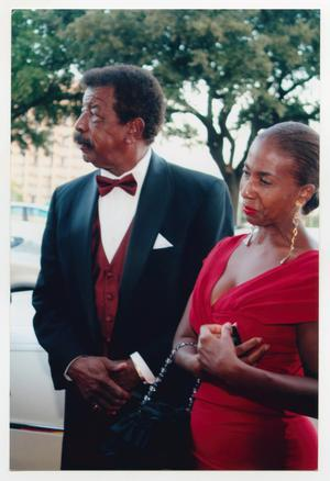 Primary view of object titled '[Hal Williams with Woman]'.