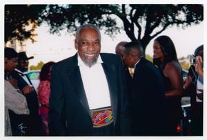 Primary view of object titled '[Bill Cobbs on the Red Carpet]'.