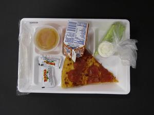 Primary view of object titled 'Student Lunch Tray: 02_20110208_02A5536'.