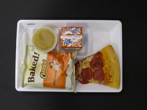 Primary view of object titled 'Student Lunch Tray: 02_20110208_02A5537'.