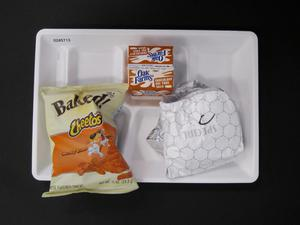 Primary view of object titled 'Student Lunch Tray: 02_20110208_02A5713'.