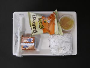 Primary view of object titled 'Student Lunch Tray: 02_20110208_02A5732'.